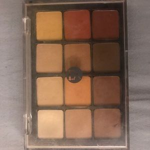 Viseart Warm Mattes Eyeshadow Palette